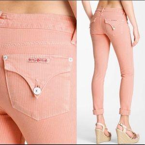 🦋 Hudson Bacara Crop Straight Cuffed jeans Sz 29